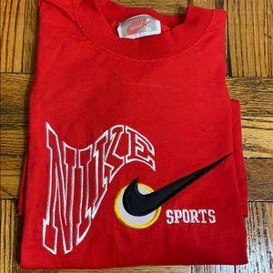 NWOT Nike sports vintage men's red tee shirt